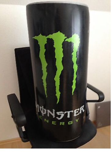 """Monster Energy"" Riesendose aufblasbar"