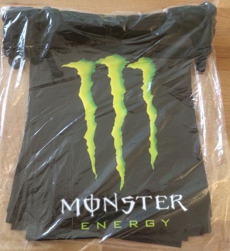 "Wimpelkette ""Monster Energy"" Start-Ziel"